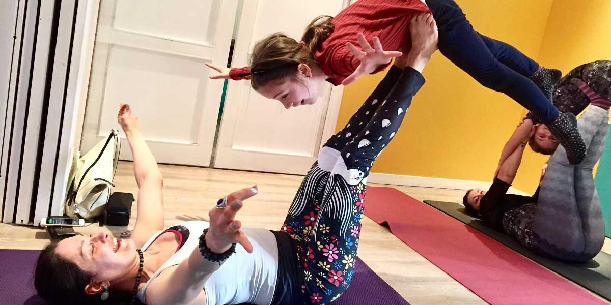 Interview avec Valérie Gosse de Comme un Mercredi - Happy Yoga
