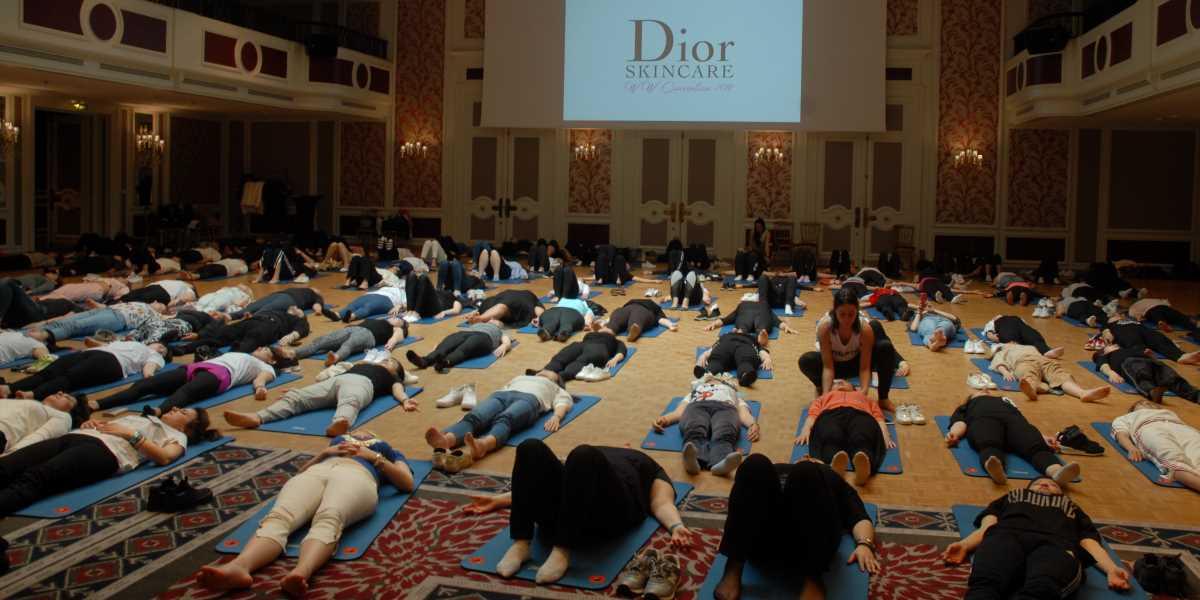 Événement Détente en beauté avec Dior Skincare - Happy Yoga