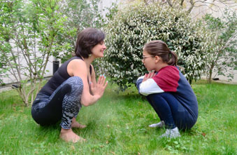 Yoga parents enfants - Happy Yoga