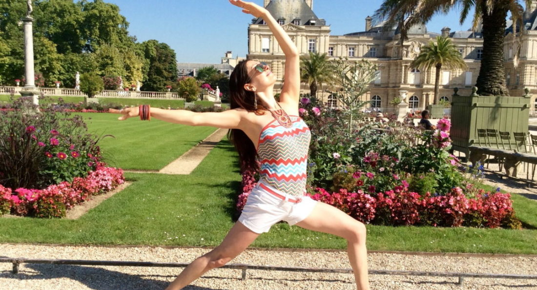 e suis l'essence de moi-même --Happy Yoga