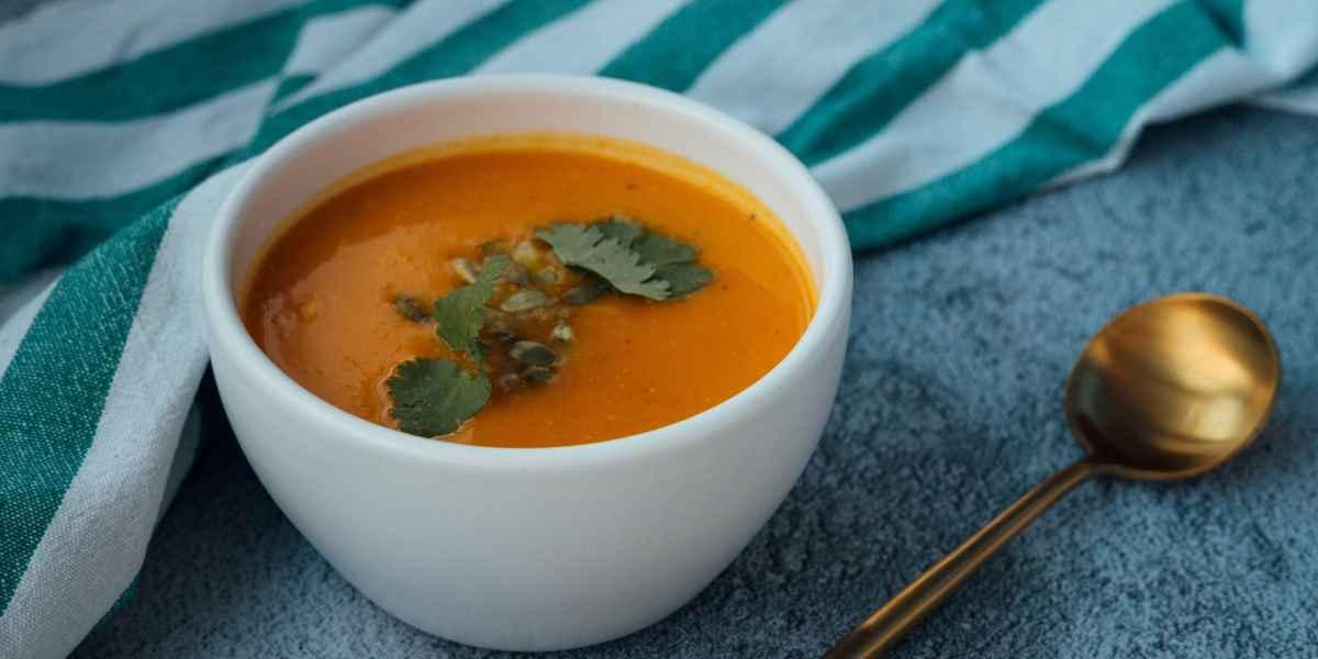 Soupe de châtaigne et potiron rôti- Happy Yoga